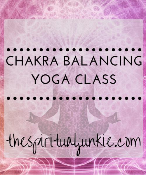 chakra balancing yoga class