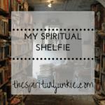 spiritual shelfie