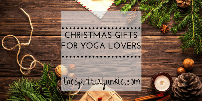 Christmas gifts for yoga lovers