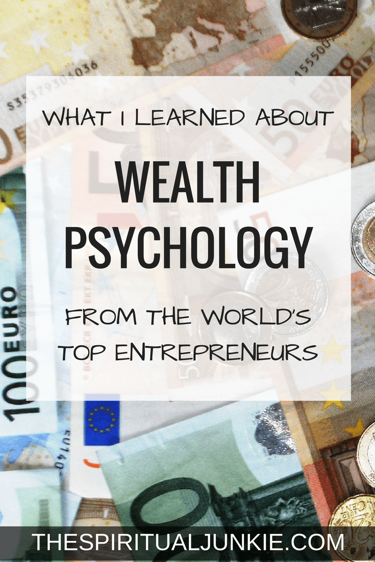 Wealth psychology.