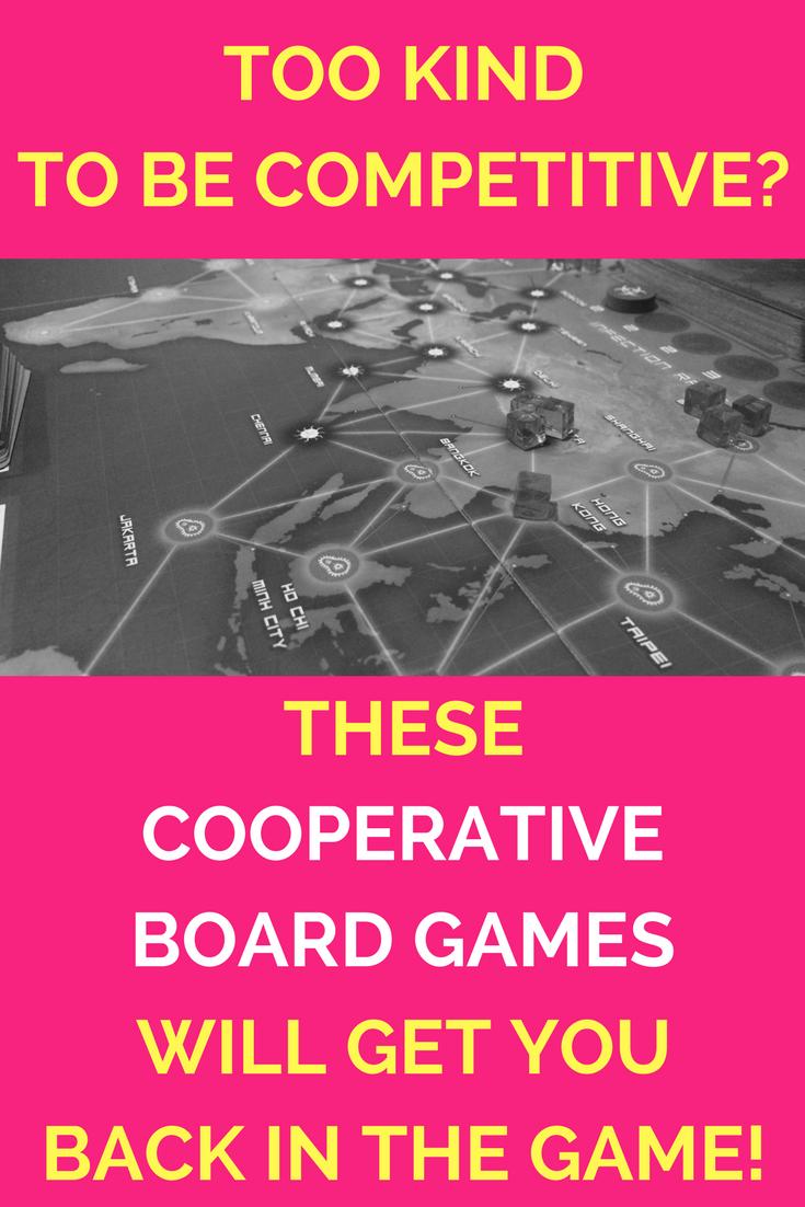 Cooperative board games.
